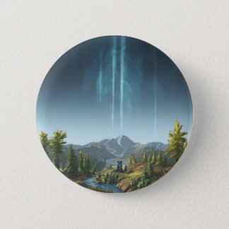 Rivers Flowing To The Sky Pinback Button
