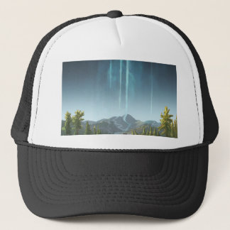 Rivers Flowing To The Sky Trucker Hat
