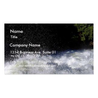 Rivers Foam Rapids Splashing Business Card