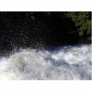 Rivers Foam Rapids Splashing Photo Sculpture