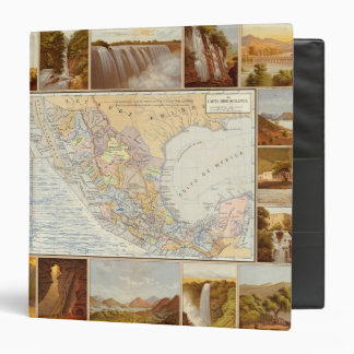 Rivers in Mexico 3 Ring Binder