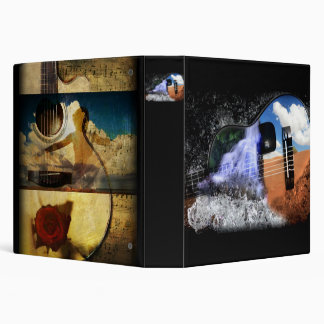 Rivers in the Desert Guitar Binder 1.5 Inch