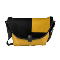 Rivers of Oil and Gold Messenger Bag