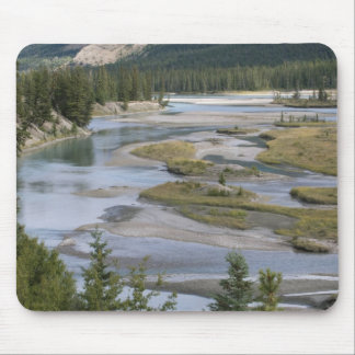 Rivers run through a lowland section of Jasper Mouse Pad