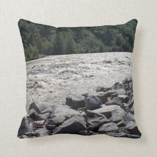 Rivers Throw Pillow