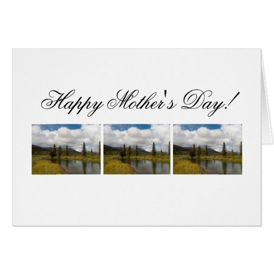 Riverscape; Happy Mothers Day Card
