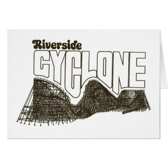 Riverside Amusement Park (now Six Flags: NE) Card