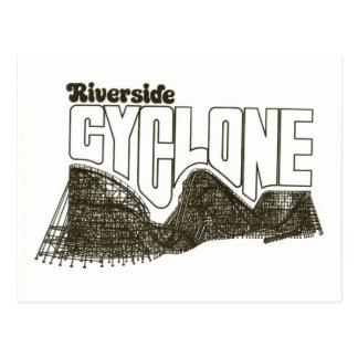 Riverside Amusement Park (now Six Flags: NE) Postcard