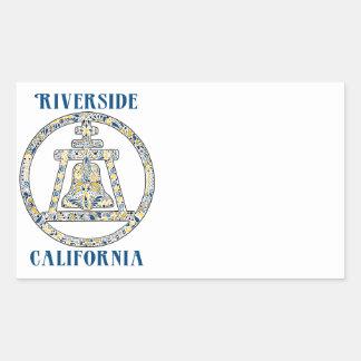 Riverside, California - A Tribute Stickers