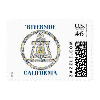 Riverside California Stamp