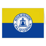 Riverside, California, United States flag Cards