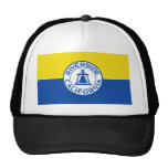 Riverside, California, United States flag Mesh Hat