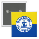 Riverside, California, United States flag Pins