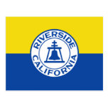 Riverside, California, United States flag Postcards