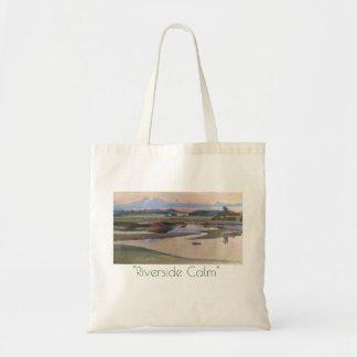 Riverside Calm Tote Bag