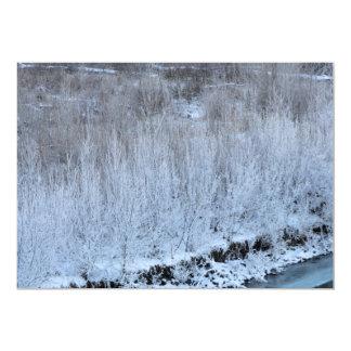 Riverside Frozen Card