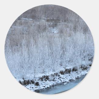 Riverside Frozen Classic Round Sticker