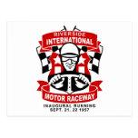 Riverside International Raceway Post Card