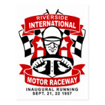 Riverside International Raceway Postcard