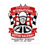 Riverside International Raceway Postcards