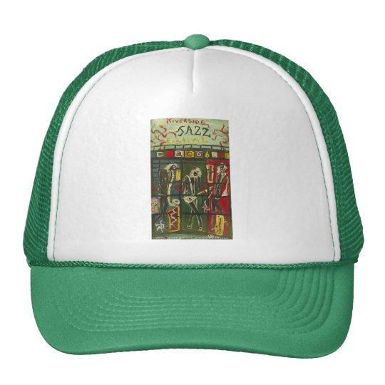 riverside jazz trucker hat