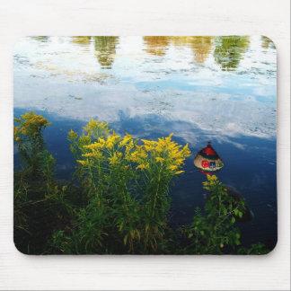 Riverside Mousepad,water, river,landscape Mouse Pad