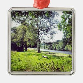 Riverside Christmas Tree Ornament