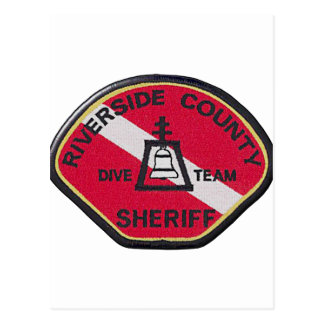 Riverside Sheriff Dive Team Postcard