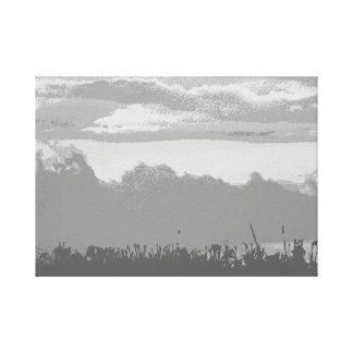 Riverside Sunset II Canvas Print