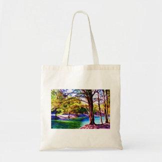 Riverside Trees Tote Bags