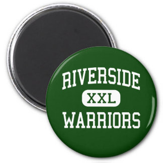 Riverside - Warriors - High - Pittsburg California Fridge Magnets