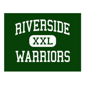 Riverside - Warriors - High - Pittsburg California Post Cards