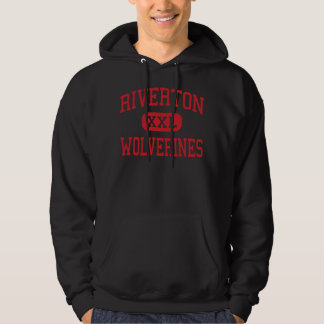 Riverton - Wolverines - High - Riverton Wyoming Hoodie