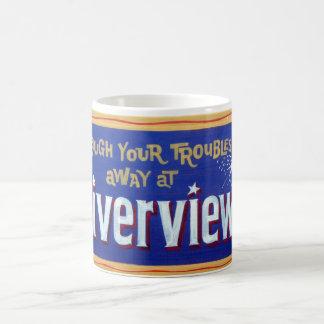 Riverview Amusement Park, Chicago, Illinois Classic White Coffee Mug