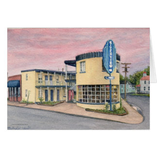 Riverview at Colonial Beach by Michael Martin Stationery Note Card