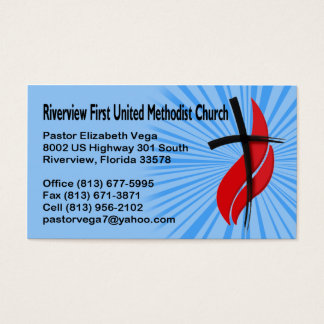 Riverview First UMC Pastor Business Card