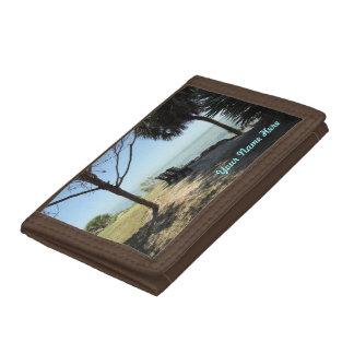 Riverview No. 1 Personalized Tri-fold Wallet
