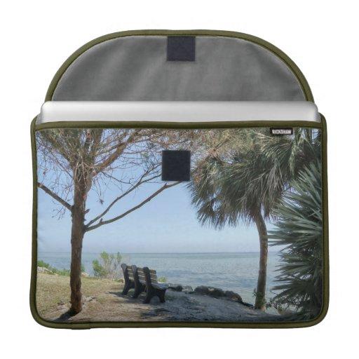 Riverview No. 1  Rickshaw Flap Sleeve MacBook Pro Sleeve