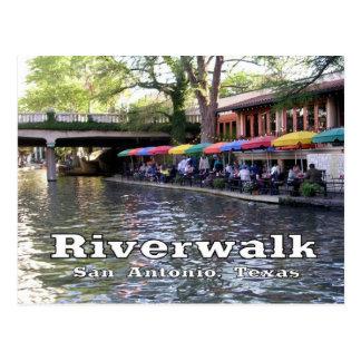 Riverwalk, San Antonio, TEJAS Postales