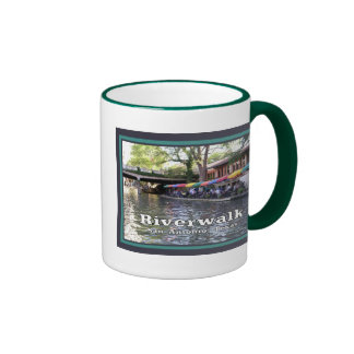 Riverwalk, San Antonio, TEJAS Tazas De Café