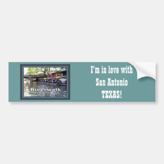 Riverwalk, San Antonio, TEXAS Bumper Sticker