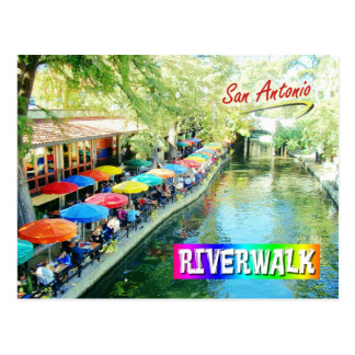 Riverwalk, San Antonio, Texas Postcard