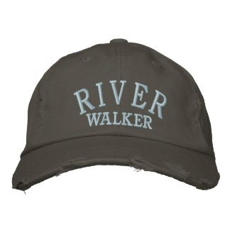 RIVERWALKER EMBROIDERED BASEBALL CAP