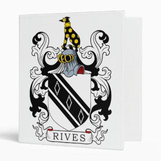 Rives Coat of Arms Vinyl Binders