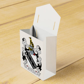 Rives Coat of Arms Favor Box
