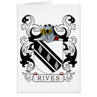 Rives Coat of Arms II Greeting Card