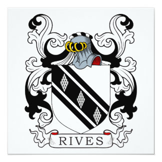 Rives Coat of Arms II Invitation