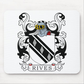 Rives Coat of Arms II Mouse Pad