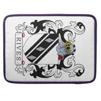 Rives Coat of Arms II Sleeve For MacBooks
