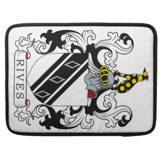 Rives Coat of Arms MacBook Pro Sleeve